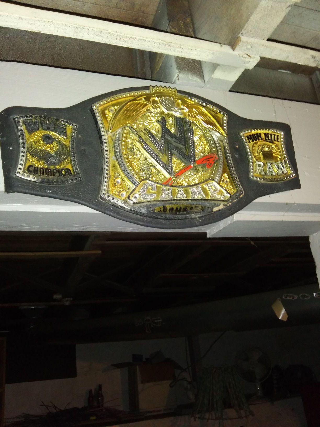 Wwe belt