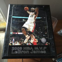 LeBron MVP Plaque Thumbnail