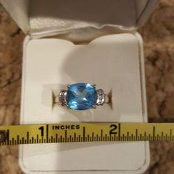 Ring Blue Topaz Thumbnail