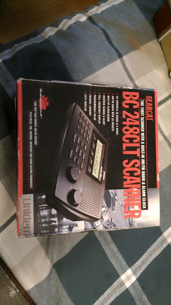 The bearcat with radio plus police fire weather emergency and other  frequencies for Sale in Folsom, CA - OfferUp