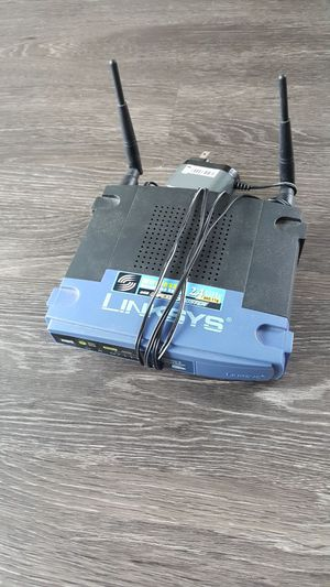 Linksys 4 port and wireless router for Sale in Chicago, IL