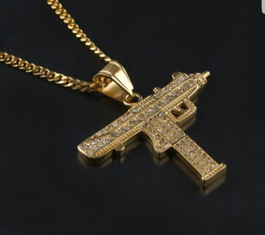 New and used gold chains for sale in reno nv offerup iced uzi hip hop chain and pendant for sale in sparks nv aloadofball Choice Image