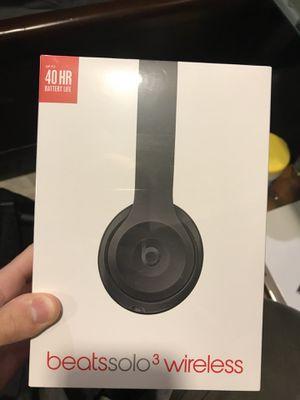 Beats Solo 3 Wireless Matte Black (BRAND NEW) for Sale in Chapel Hill, NC