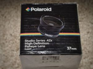 Fisheye lens 37mm & macro lens for Sale in Chicago, IL