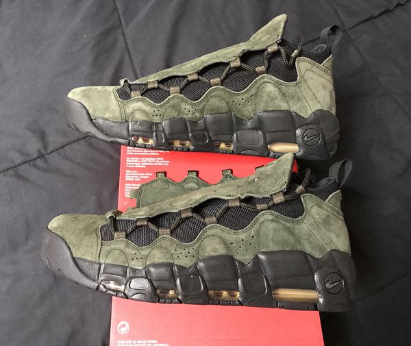 buy online e8221 400d0 Nike Air More Money QS Uptempo Mens Size 9 13 or 15 Basketball Shoes NEW DS!
