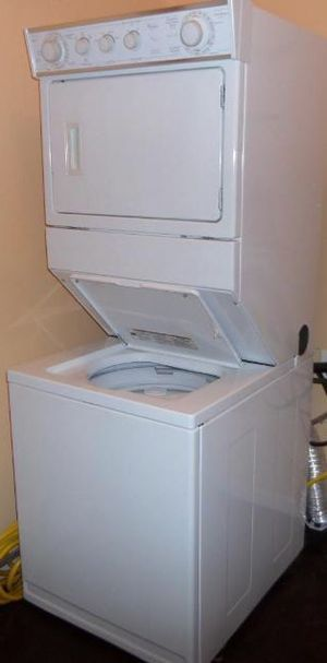 """Photo Stackable Washer Dryer   27"""" Wide   TODAY"""