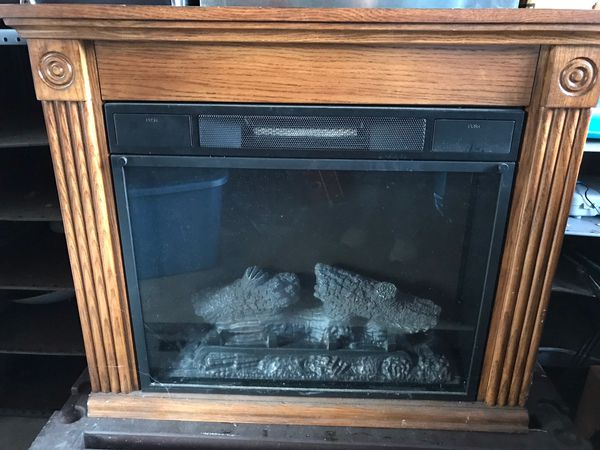 Twin Star Electric Fireplace For Sale In White Lake Charter Township