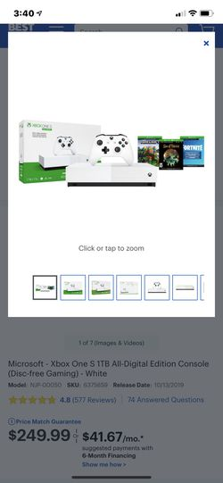 Xbox 1 digital 3 games Thumbnail
