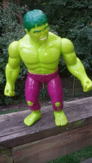 "Incredible Hulk 15"" Marvel Toy Biz 1991 for Sale in Middle River, MD"