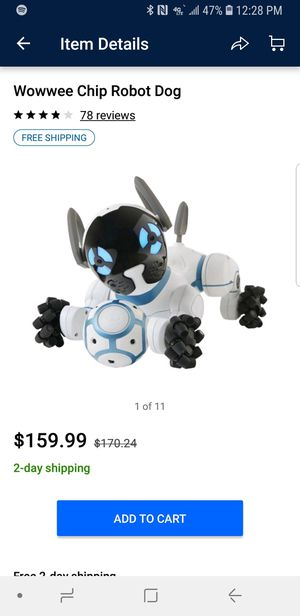 WowWee chip robot dog for Sale in Cary, NC - OfferUp