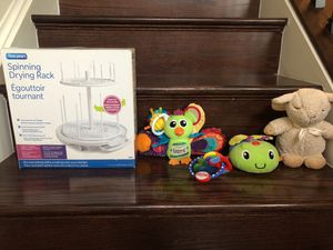 Baby drying rack, Cloud b sleep sheep, toys for Sale in North Potomac, MD
