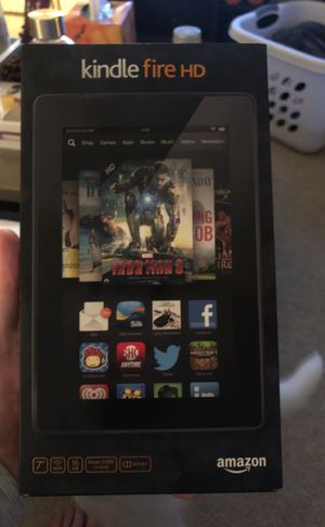 "Amazon Kindle Fire HD 16GB, 7"" Display for Sale in Woodbridge, VA"