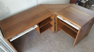 L-Shaped Office Desk 3pces. Can be use in 2 separate desks for Sale in Alafaya, FL