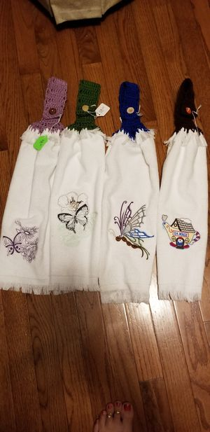 Handmade towels for Sale in Manassas Park, VA