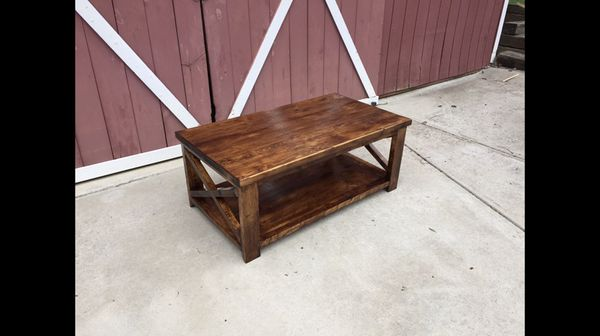 Rustic Barn Style Coffee Table For Sale In Clemson Sc Offerup