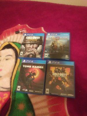 Used, PlayStation 4 games for sale  Springdale, AR