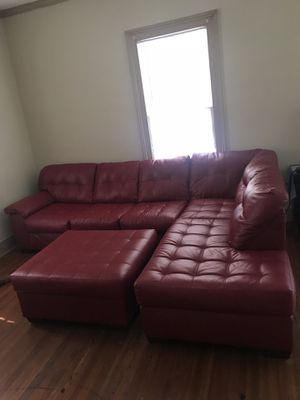 Sectional Couch With Ottoman For In Raleigh Nc
