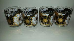 Vintage signed G Briard rocks glasses for Sale in Orlando, FL