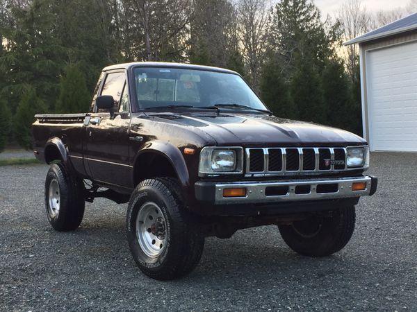 1983 Toyota Pickup 4x4 80 Restored For Sale In Bellingham