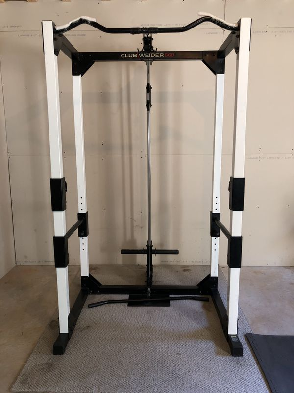 Club Weider 560 Power Rack Bar Weight Bench For Sale In Conyers Ga Offerup