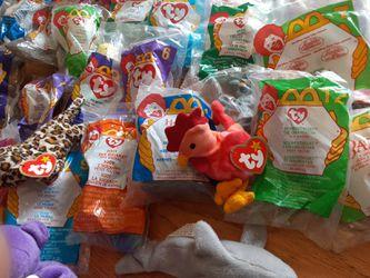McDonald's Ty beanie babys Kellogg's toys Thumbnail