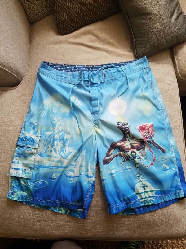 ca3c3d6caac31 Very rare Iron maiden board shorts for Sale in Mount Juliet, TN - OfferUp