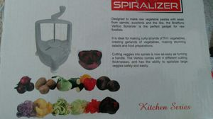 Spiralizer with 4 blades - like new, in box! for Sale in Fairfax, VA