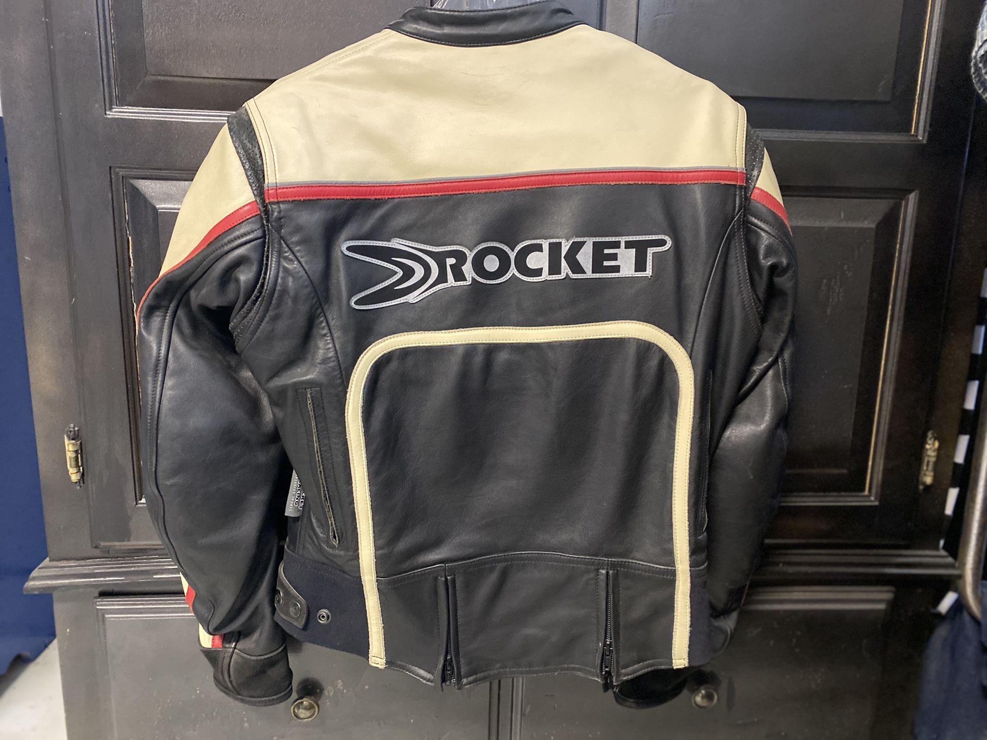 Photo Genuine Joe Rocket Leather Jacket