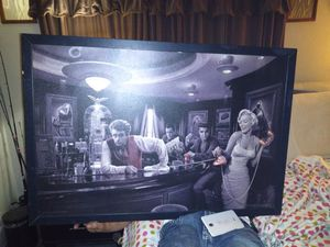 Photo 3 pictures James Dean and marylin