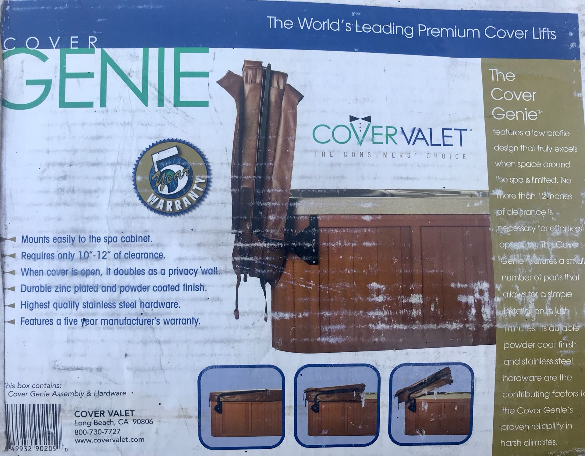 Cover Genie Lifter For Hot Tub