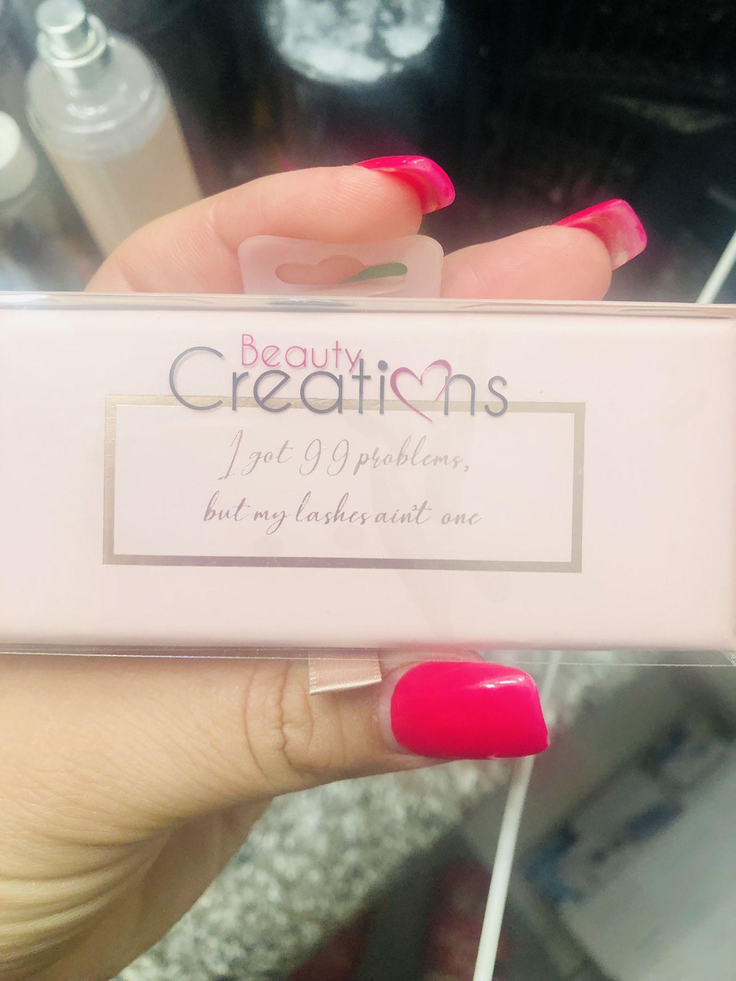 New Beautycreation Eyelashes