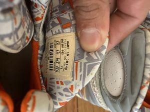 Photo Jordan 8 Retro Orange White Size 7.5