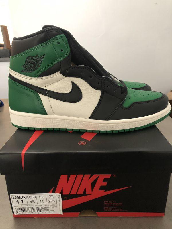 d64f48362882 Air Jordan 1 Retro High OG Pine Green Size 11 Mens for Sale in North ...