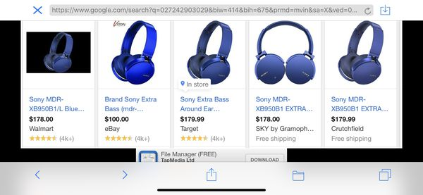 5bf3a94ab20 New and Used Sony headphones for Sale in Victorville, CA - OfferUp