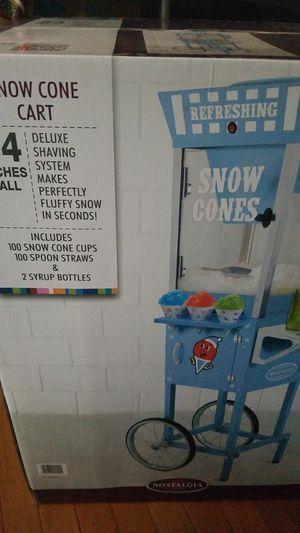 Snow cone cart for Sale in Ashburn, VA