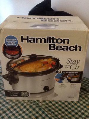 Hamilton Beach Stay or Go Crock Pot Brand New for Sale in Herndon, VA