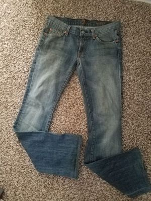 Seven for all mankind woman's jeans size 26 bootcut slightly worn no holes or rips for Sale in Scottsdale, AZ