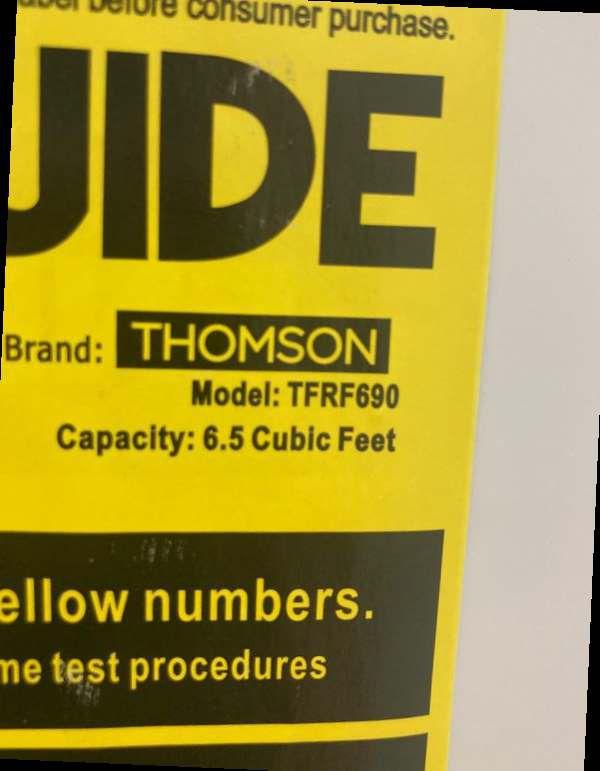 Thomson 6.5 UpRight DeepFreezers (Each $200) 5AY