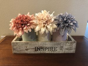 Farmhouse shabby chic Inspire box decor for Sale in Clermont, FL