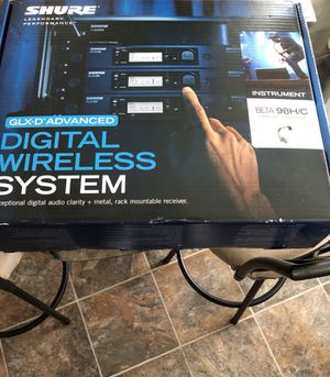Shure Beta 98H/C Wireless Mic For Instruments! for Sale in Chicago, IL