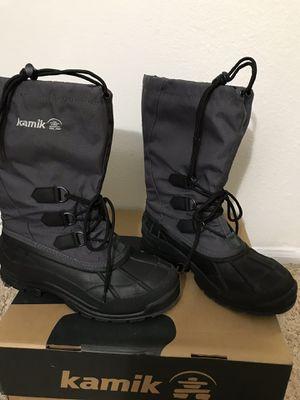 Charcoal Kamik Men's Winter Boot for Sale in Leesburg, VA