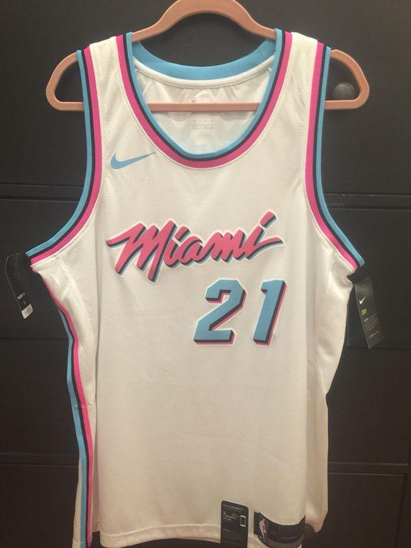 ff0b7de2d9d Miami Heat Vice Hassan Whiteside Nike Swingman Jersey for Sale in ...