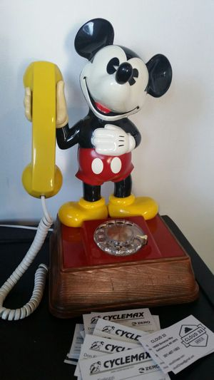 Mickey Mouse Phone manufactured in USA 1976 for Sale in Germantown, MD