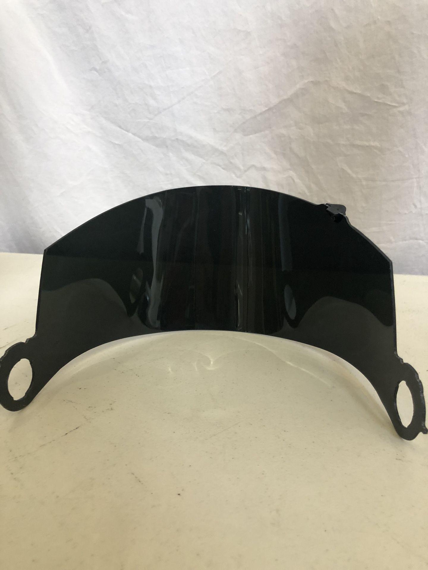 SUOMY SPECR1 Mirror Iridium Chrome Face Shield , Anti Fog, KASPVA, New
