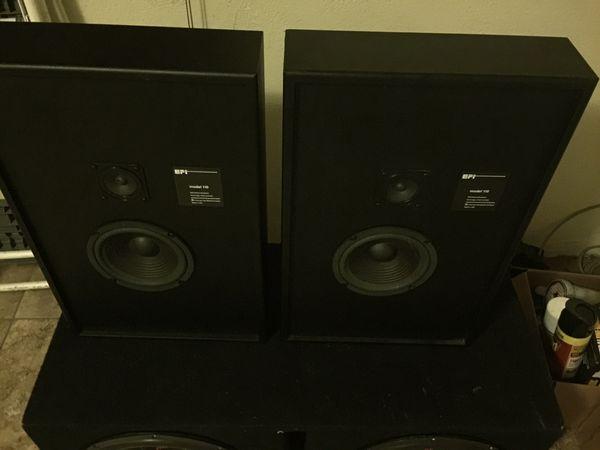 EPI by Harman Model 110 vintage hi fi speakers for Sale in San Diego, CA -  OfferUp
