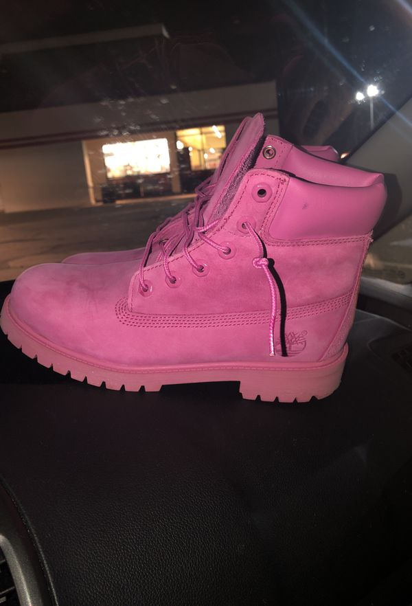 e788246f06 Pink Timberland Boots for Sale in Walton Hills, OH - OfferUp