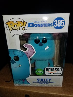 sulley funko pop flocked for Sale in Kissimmee, FL