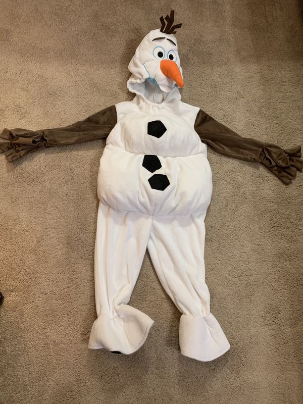 f8681e732889 Olaf frozen Halloween costume size 3 kids fits to 5 year old for ...