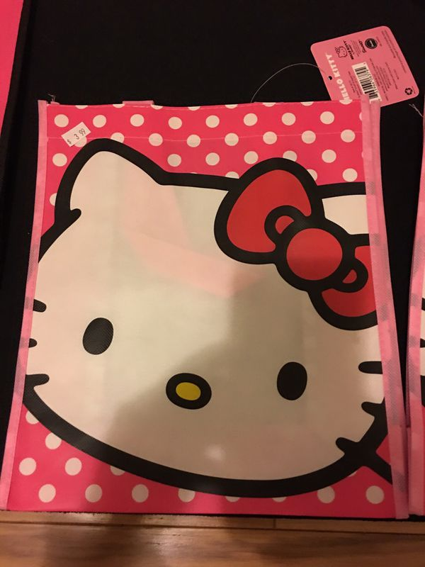 "c9b497a4c2 Hello Kitty small shopping tote 10""x12""- new with tag for Sale in ..."