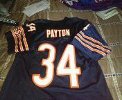 Vintage throwback walter Payton jersey excellent condition size medium for Sale in Philadelphia, PA